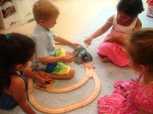 Vincenzo e i trenini