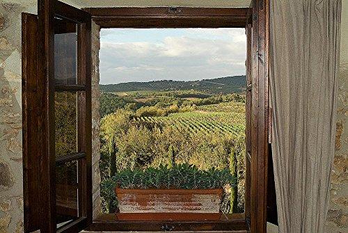 Tuscan Vineyards Wallpaper Wall Mural Self Adhesive Multiple